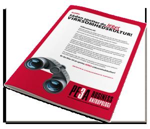 Sådan spotter du jeres virksomhedskultur - PE3A BusinessAntropologi